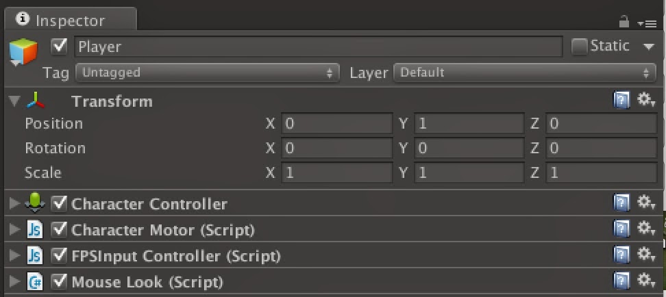 Oculus Rift in Action: Unity Pro 4: Using the OVRCameraController prefab
