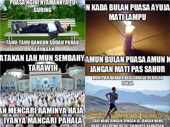 15 Koleksi Meme Bahasa Banjar Edisi Khusus Bulan Ramadhan Meme