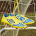 Sepatu Bola Umbro UX Accuro Pro FG Blazing Yellow Electric Blue