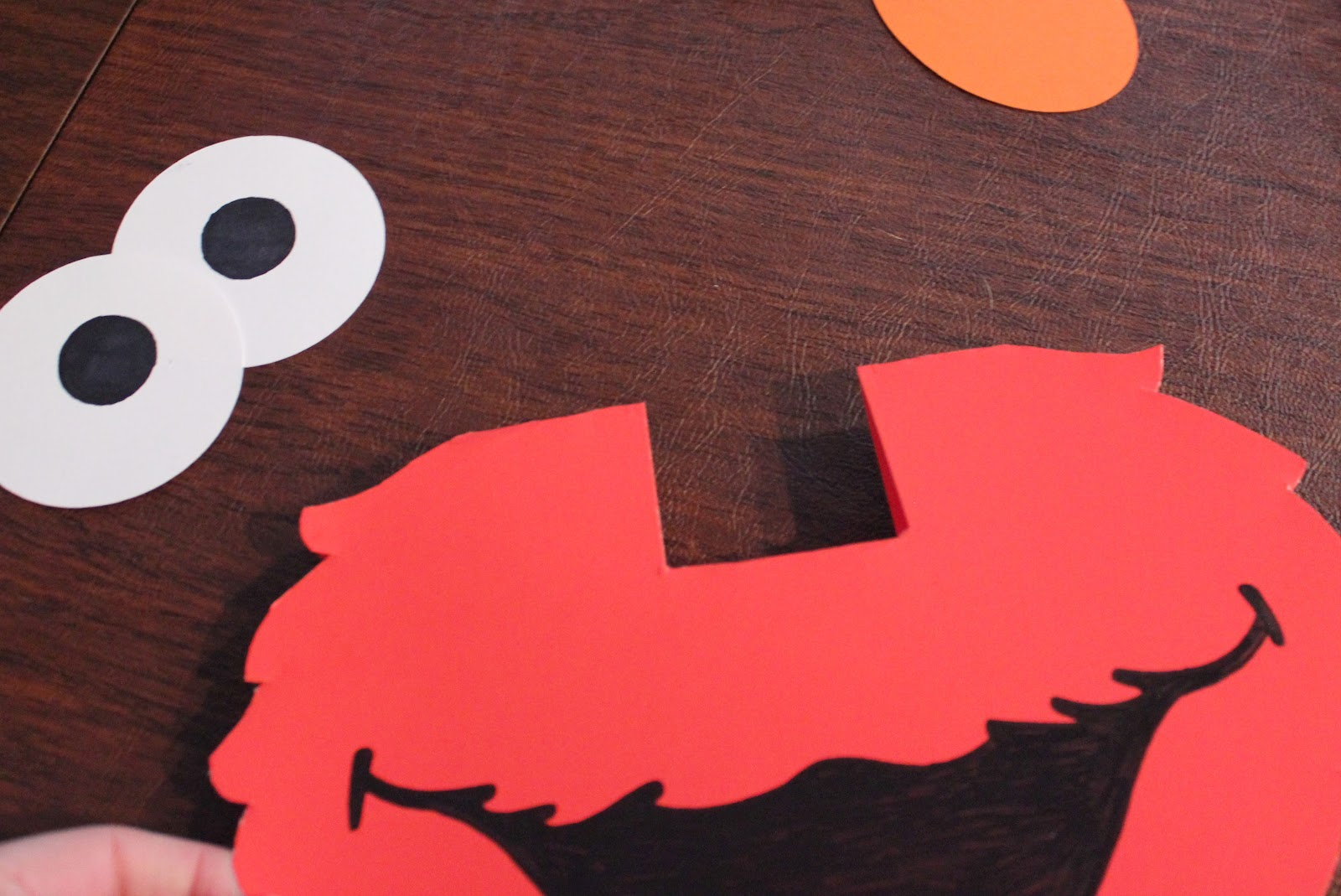 Elmo Pop Up Card