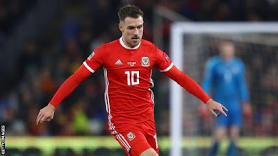 aaron ramsey thigh injury wales