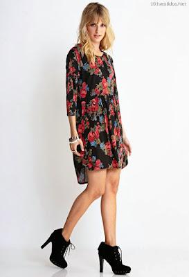 Vestido de moda casuales