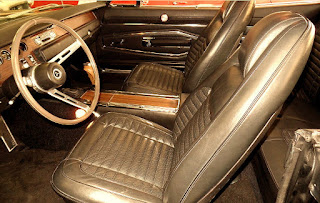 1970 Dodge Charger RT Hemi Seat Front Picture
