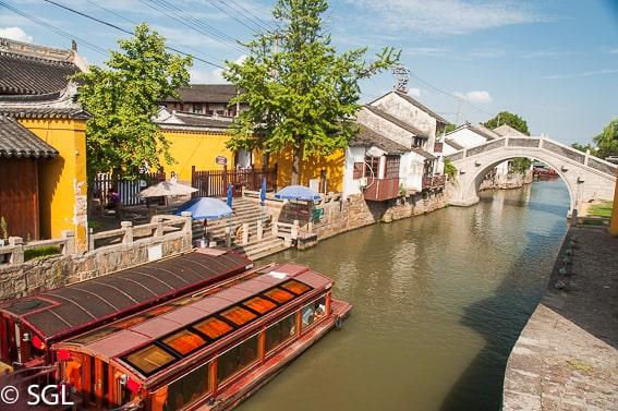 Los canales de Suzhou. China