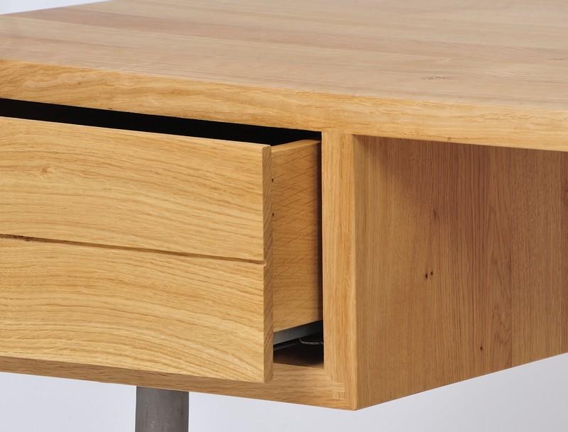 Nouveaux bureaux design en bois le blog de loftboutik - Bureau bois massif moderne ...