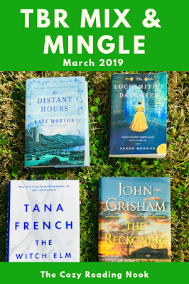 TBR Mix & Mingle - What I'm Reading for March