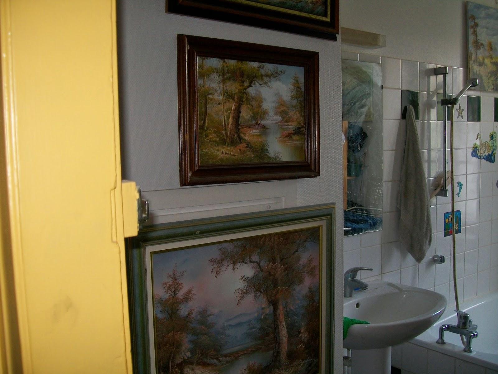 Tableau Salle De Bain calogilou le champi-tableaux -peintures -hst-: appartement