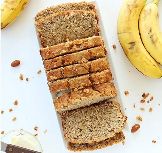 One Bowl Gluten Free Banana Bread