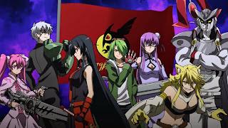 Tapeta Full HD z Akame Ga Kill z bohaterami Nocnego Rajdu
