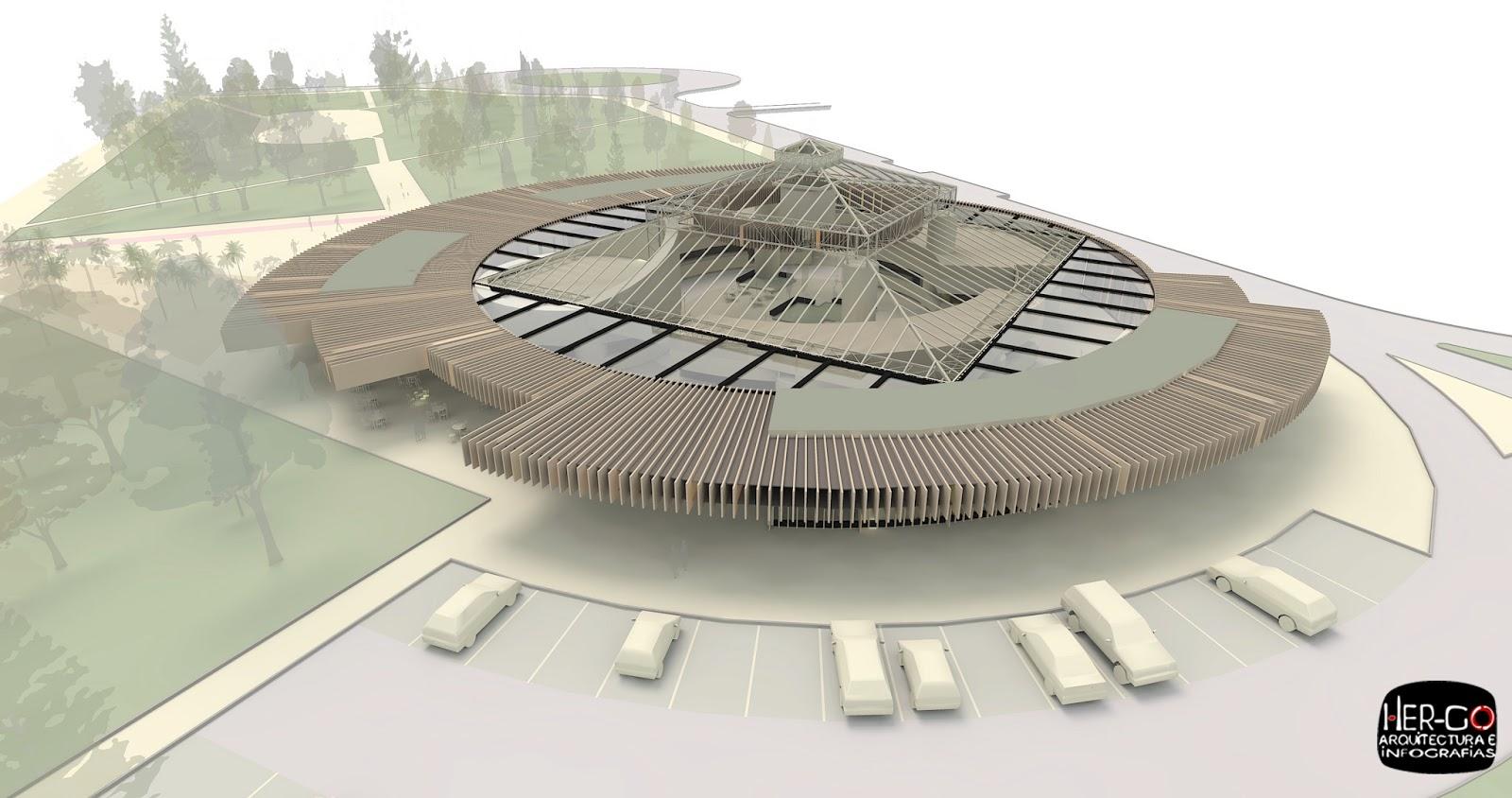 Hergo arquitectura e infograf as mayo 2013 for Jardin de la vega alcobendas