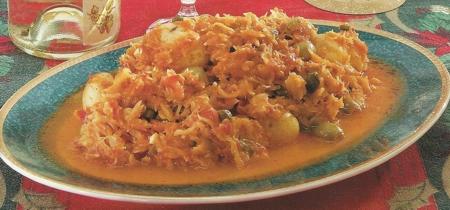 Receta de Bacalao en Salsa de Tomates