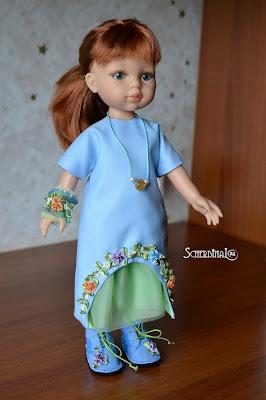 одежда и обувь для кукол, паола рейна