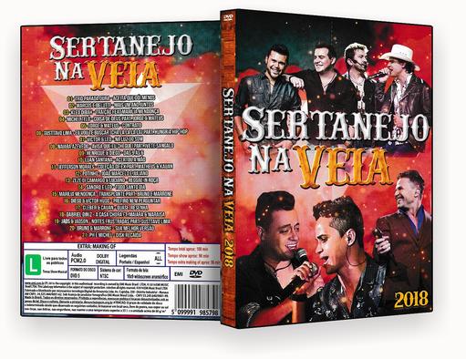 CAPA DVD – Sertanejo Na Veia – ISO