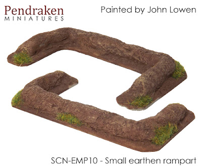 SCN-EMP10       Small earthen rampart