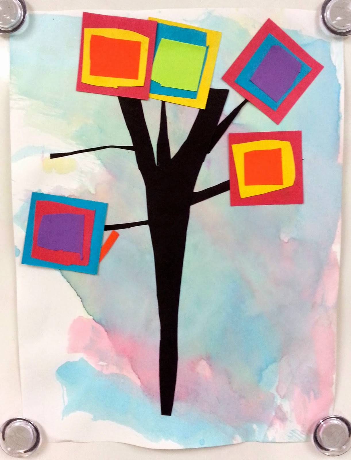 Ive Seen Projects Similar To This Before But Never With The Specific Primary Secondary Color Mixing Leaf Combinations