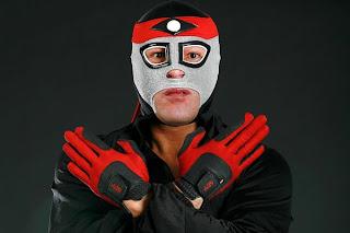 mascara de luchador Octagon