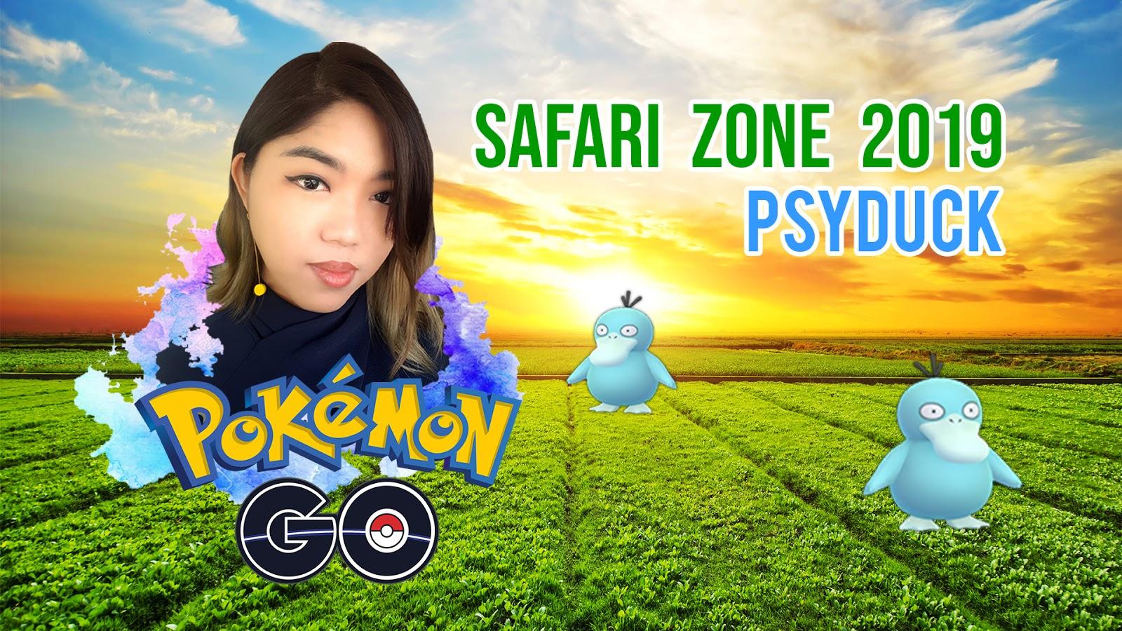 Pokemon Go: Safari Zone 2019: Brazil - Shiny Psyduck | It's