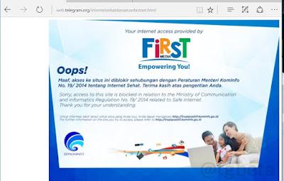 SItus Web Telegram Diblokir Menkominfo Indonesia pada 14 Juli 2017