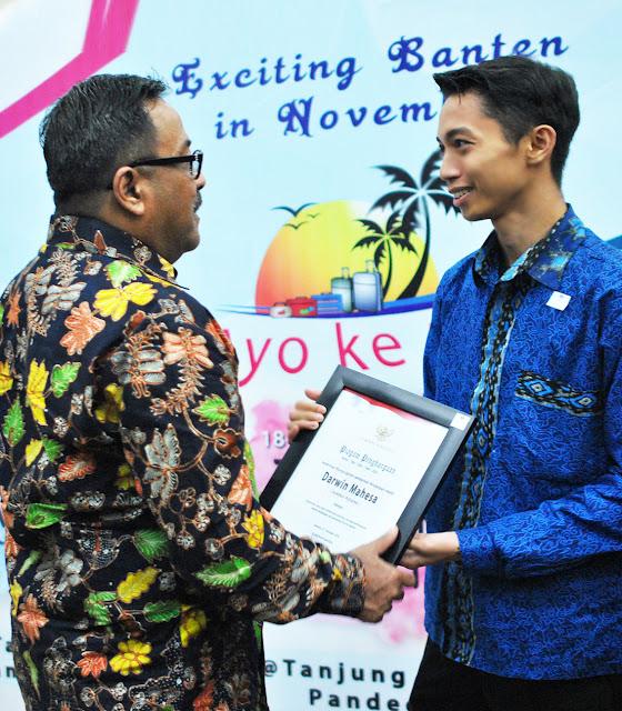 Gubernur Banten Rano Karno Apresiasi Darwin Mahesa