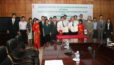 Trường Đại học Nagaoka hợp tác với ĐH Bách Khoa Hà Nội