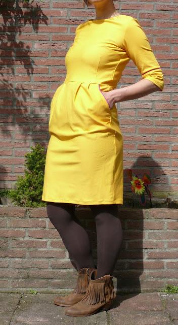 lora jurk la maison victor geel