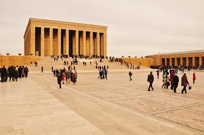 Anıtkabir, Atatürk Mausoleum, Ankara, Turkey