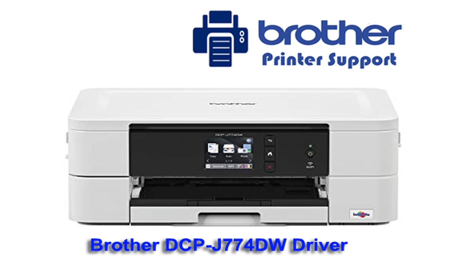 Brother DCP-j774DW Printer Drivers Software Downloads - Brother