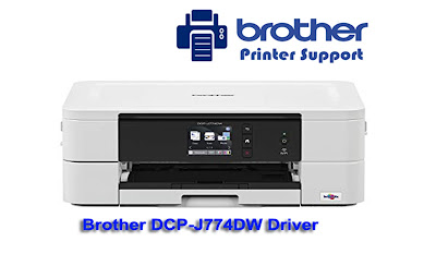 Brother DCP-j774DW Drivers Software Downloads - Windows or MAC OS