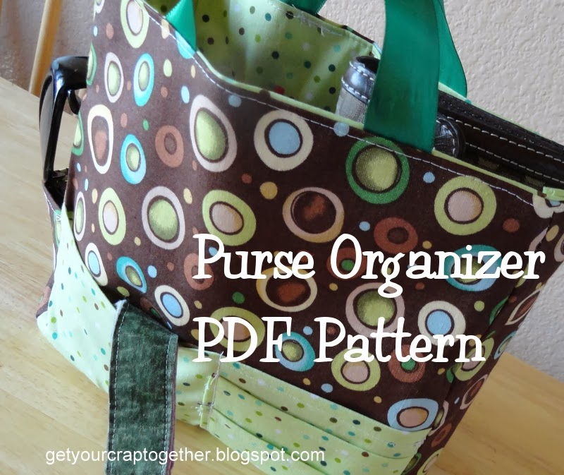 Purse Organizer PDF Pattern