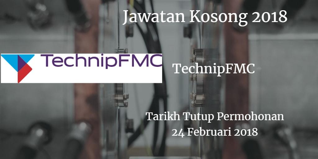 Jawatan Kosong TechnipFMC 24 Februari 2018