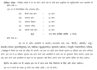 JSSC SB Constable Exam Pattern