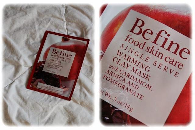 Masque Visage Warming Clay Mask - Befine Birchbox Août 2014