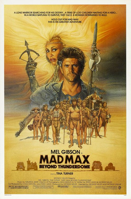 The Geeky Nerfherder Movie Poster Art Mad Max Trilogy 1979 1985