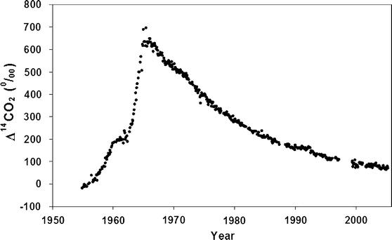 Hur är halverings tiden och Radiocarbon dating används av forskare