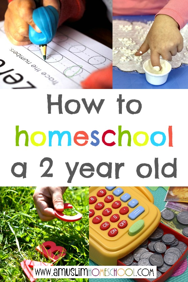 How to homeschool a 2 year old