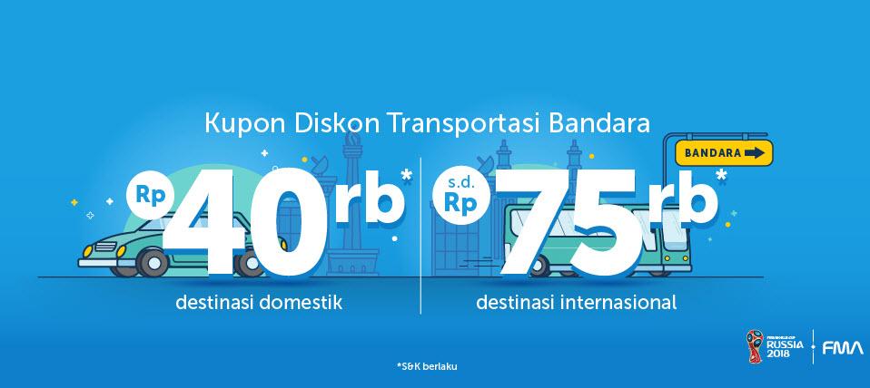 Traveloka Kupon Diskon Transportasi Bandara 12 17 Juni 2018 Promosi247 Promosi Katalog Dan Diskon Tokopedia Superindo Indomaret Giant Ovo Gopay Dll