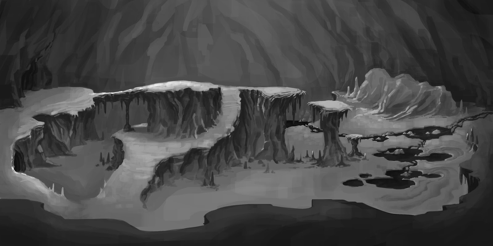 Arena Map Cave