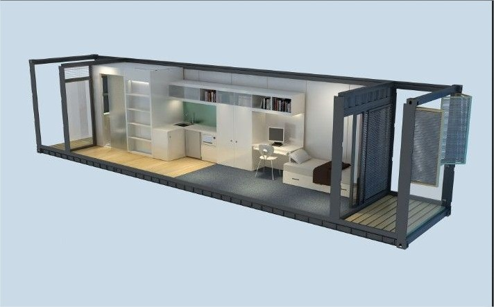 40 foot container home plans container home. Black Bedroom Furniture Sets. Home Design Ideas