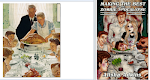 Rockwell's Thanksgiving: Cover Art Side by Side