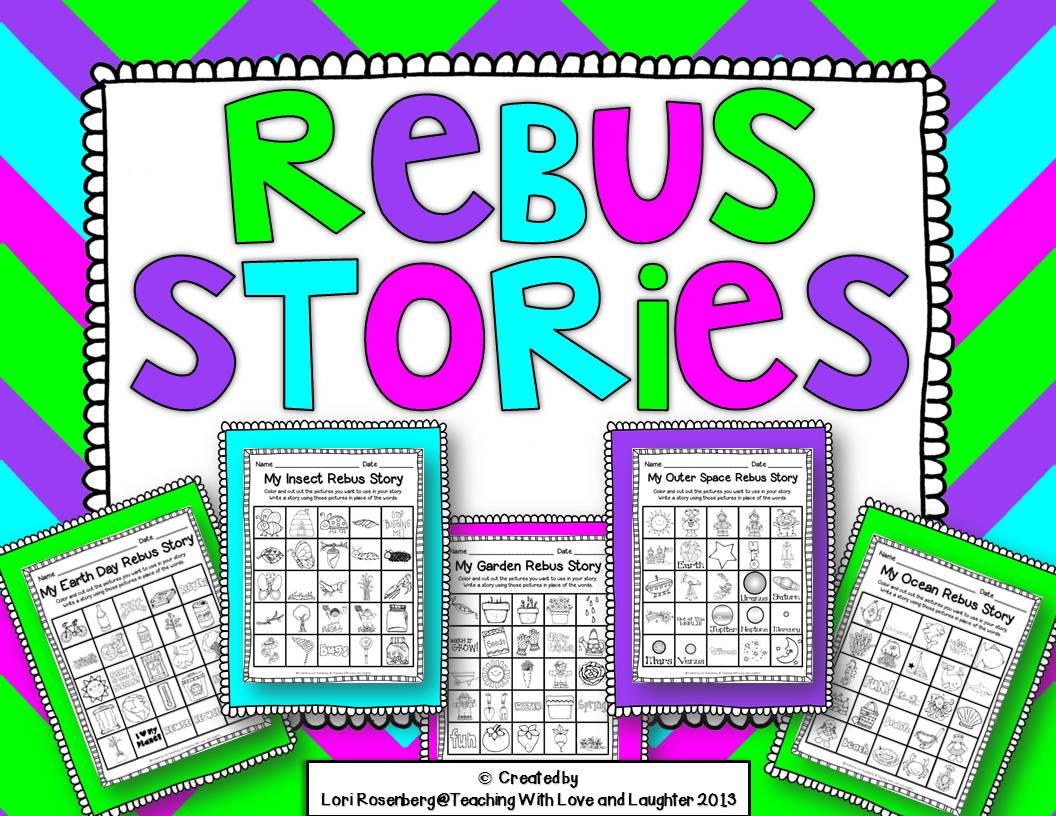 Teaching With Love And Laughter Rebus Stories And Break The Code