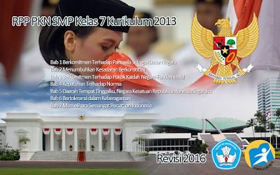 Download RPP PKN SMP Kelas 7 Kurikulum 2013 Revisi 2016