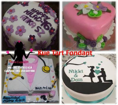 Harga kue tart fondant Sidoarjo Surabaya