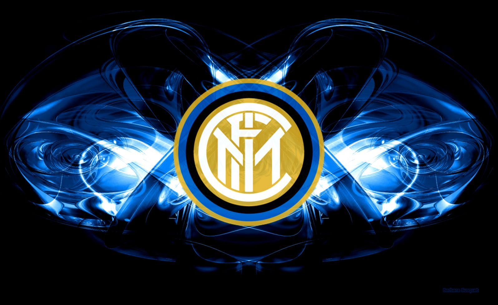 Inter Milan Fc Logo Sport Hd Wallpaper Desktop ...