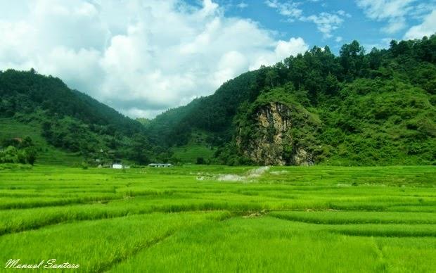 Raggiungendo Pokhara