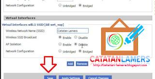 Tutorial Cara Setting Repeater Mode WISP Pada Router DD-WRT Linksys WRT54GL