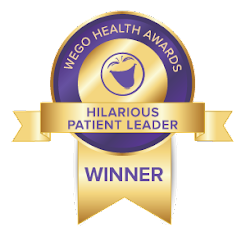 WEGO Hilarious Patient Leader: 2018 Winner