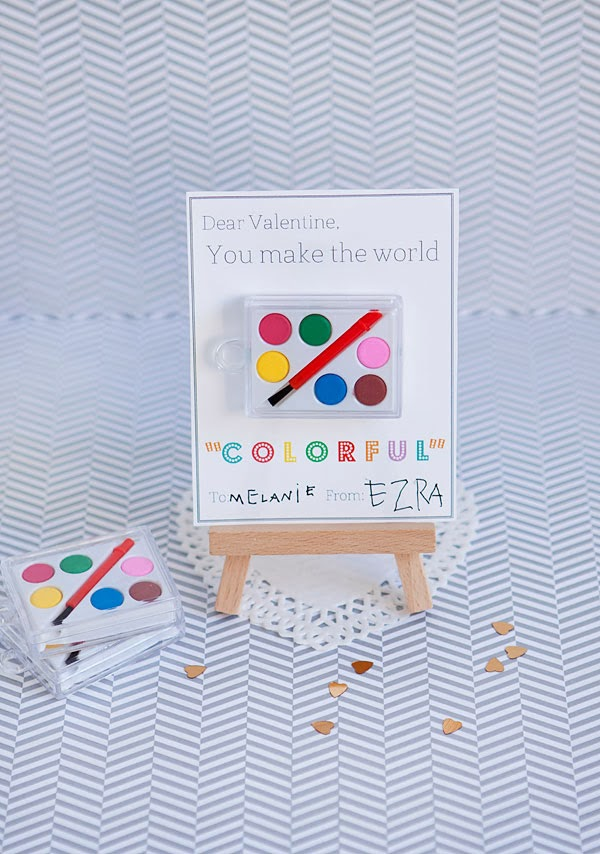 """Colorful"" Valentine from Armelle Blog"