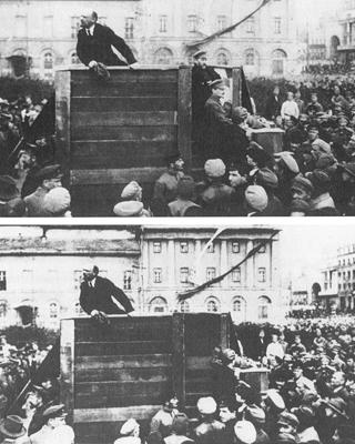 Resultado de imagen de retoque fotografico epoca lenin y stalin
