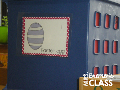 Write the Room Easter Your students will have fun expanding their vocabulary, practicing their handwriting skills, and matching numbers. A fun writing literacy activity. Perfect for a Kindergarten or First Grade writing center. #writingcenter #writing #writetheroom #kindergarten #kindergartenwriting #1stgrade #1stgradewriting #easter