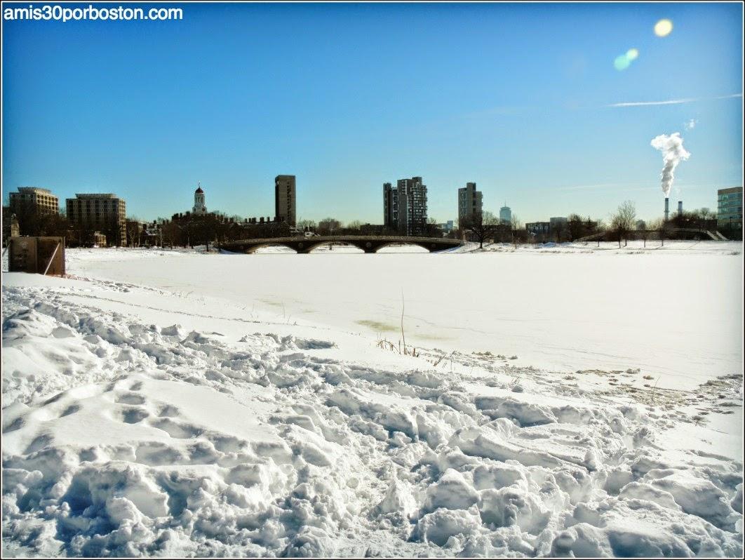 Juno: El Río Charles después de la Tormenta